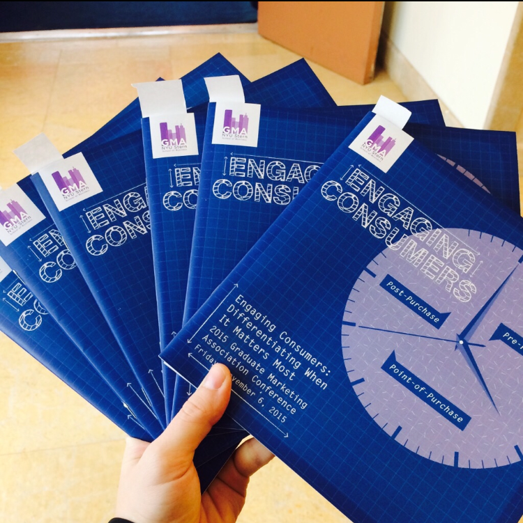 Our lovely conference brochures!