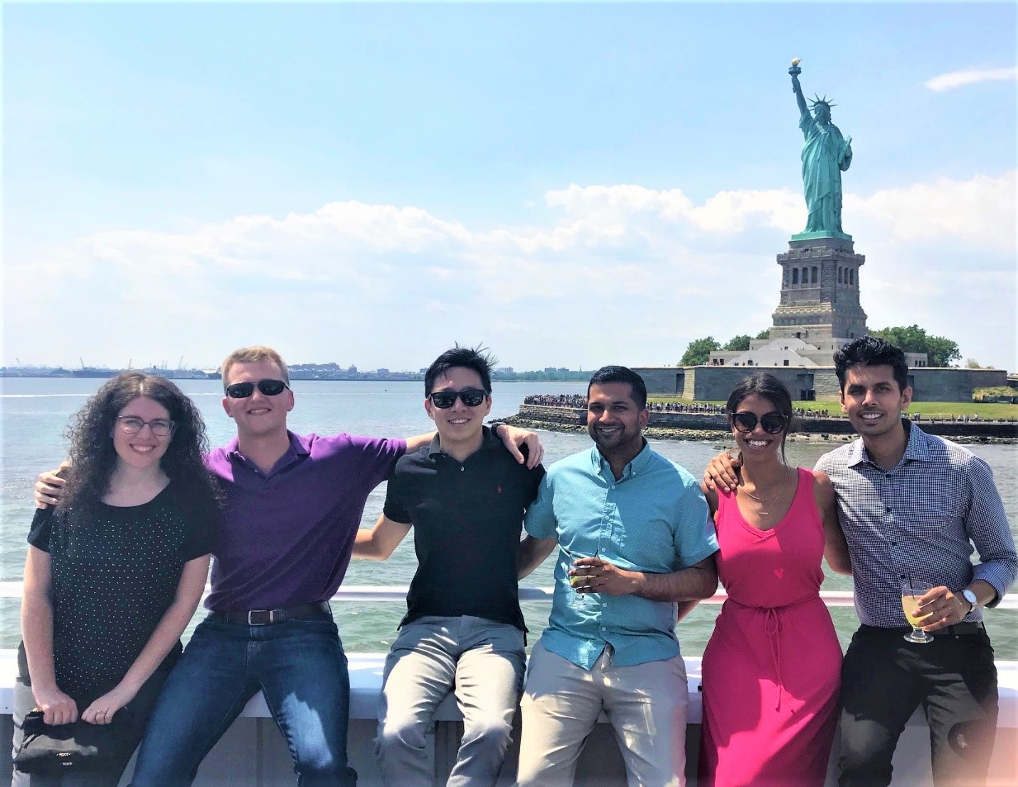 interns on the Hudson